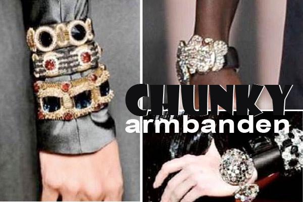 Modetrend Chunky Armbanden