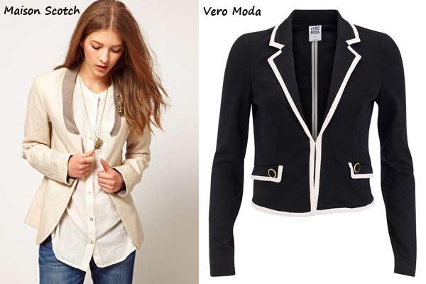 Maison Scotch & Vero Moda Blazers Herfst 2012