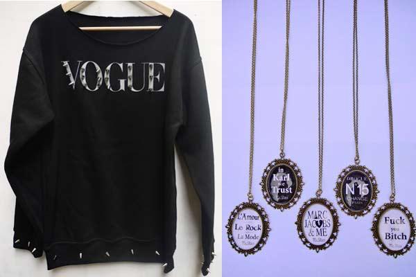 Monsieur Steve Vogue Sweater en Cameo's