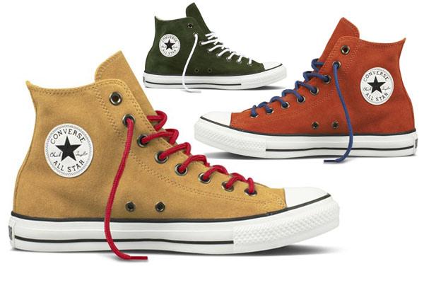 Mode Musthaves Najaar 2012 - Suede All Stars van Converse