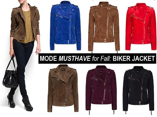 Mode Musthaves Najaar 2012: The Biker Jacket
