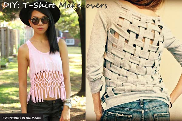 DIY T-Shirt Make-overs