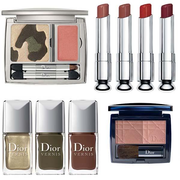 Make-up Trends Najaar 2012 - Dior Golden Jungle collectie