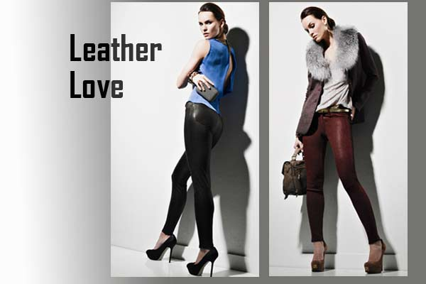 Modetrends Herfst Winter 2012 2013 - Leren broek of Legging