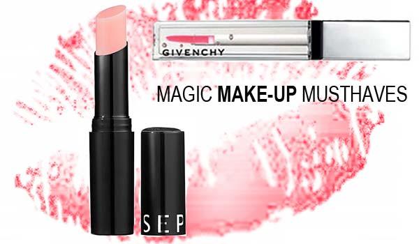 Make-up Musthaves - Sephora Lip Balm en Givenchy Magic Lipgloss
