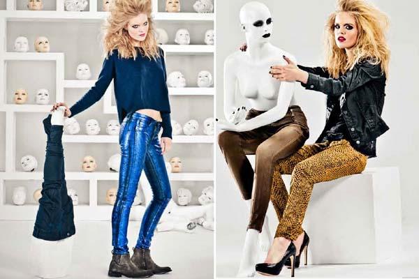 Mode Musthaves Najaar 2012 - Bleulab Reversible Jeans
