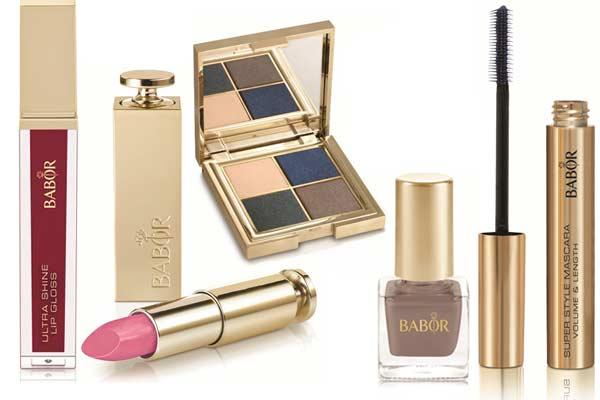 Make-up Trends Herfst Winter 2012 2013 - Babor Metallic Glam Collectie