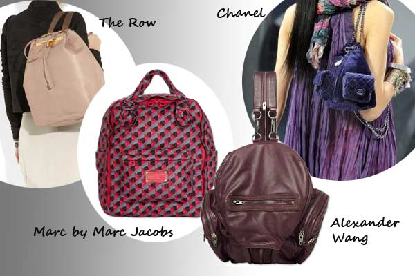 Modetrend Hot or Not? Backpacks back in Fashion!