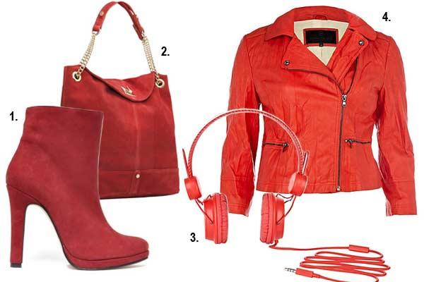 Mode Inspiratie Dress Red Day