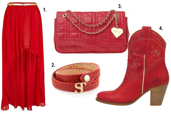 Mode Inspiratie - Dress Red Day