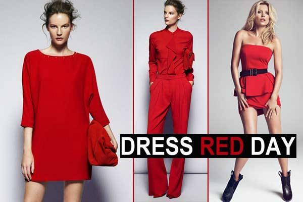 Mode Inspiratie Dress Red Day - afbeeldingen via Mango