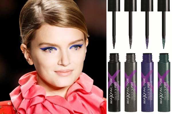 Make-up Trends Najaar 2012 - Maxfactor waterproof eyeliner