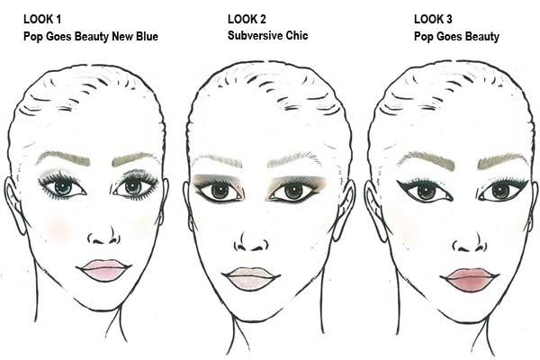 Make-up Trends Najaar 2012 - Maxfactor waterproof eyeliner Looks