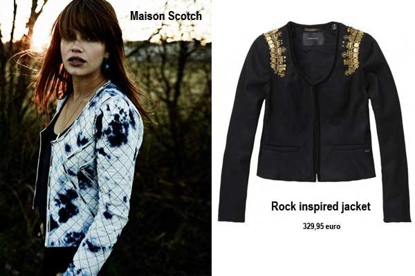 Mode Musthaves Najaar 2012 - Stoere jasjes bij Maison Scotch