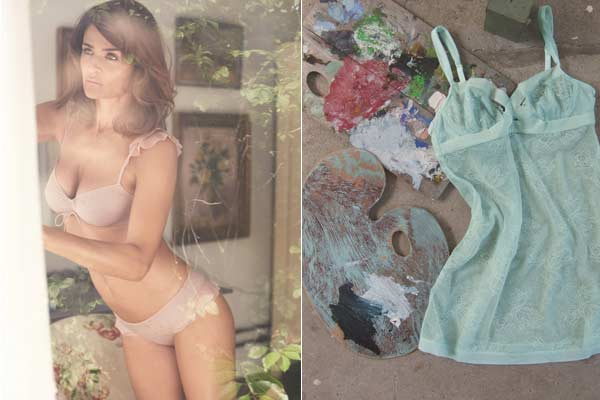 Helena Christensen for Triumph lingerie