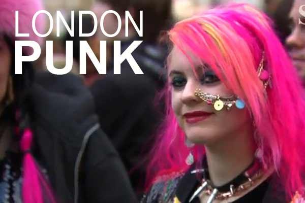 Mode Inspiratie: London Punk Scene