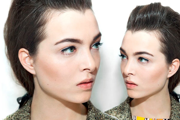 Make-up Trends Herfst Winter 2012 2013 @ Karen Walker - make-up by Jenna Menard