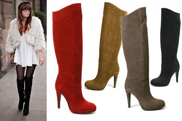 Mode Musthaves voor de winter: Overknee boots - afbeelding via Cafe Moda