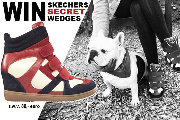 WINACTIE - Win een paar Wedge Sneakers van Skechers
