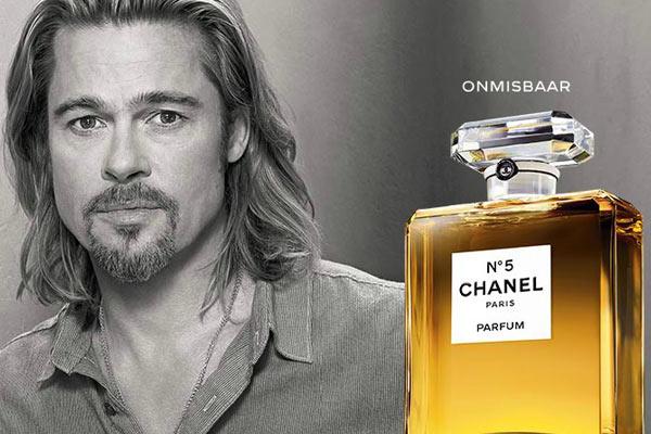 Beauty Nieuws: Chanel No.5 Commercial met Brad Pitt gelanceerd