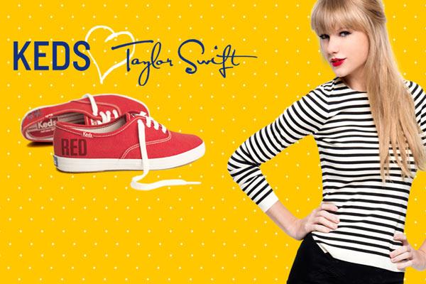 Fashion Nieuws: Keds gaat samenwerken met Taylor Swift
