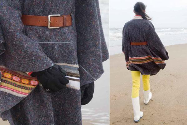 Mode Musthaves voor de herfst: Ladak Poncho - de draagbare deken