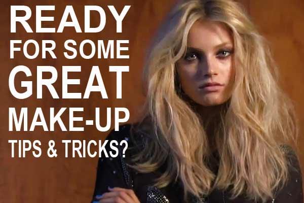 Make-up Tips Video van Make-up artist Lisa Butler