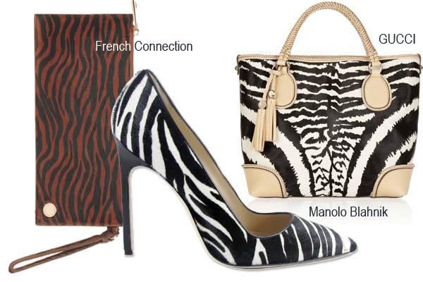 Modetrends Najaar 2012: Zebra print takes over!