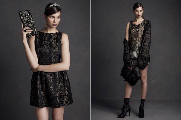 Feestdagen Fashion Primark - Goud, brokaat en kant