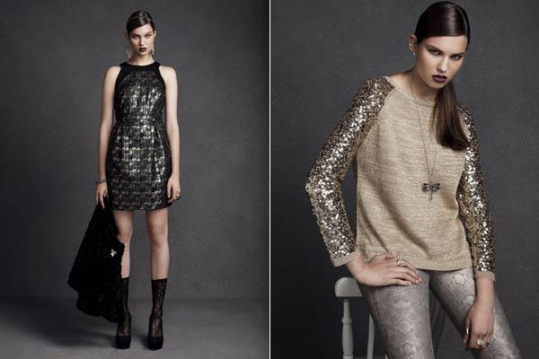 Feestdagen Fashion Primark - Metallics en pailletten