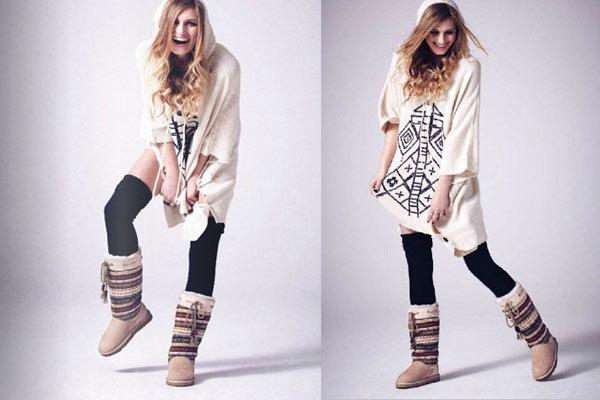 Sheepskin Boots Love From Australia - Navajo