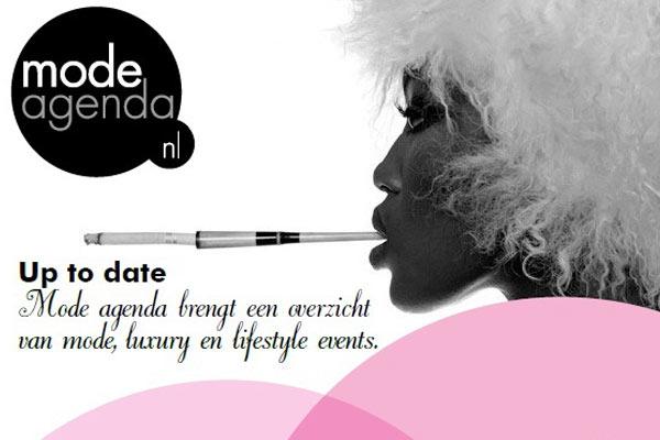 Nooit meer een mode feestje missen met Mode Agenda