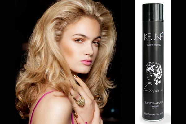 Keune brengt ode aan haarlak met Keune Society Hairspray