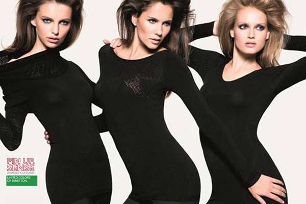 Show your curves met Benetton Pin Up Sense collectie