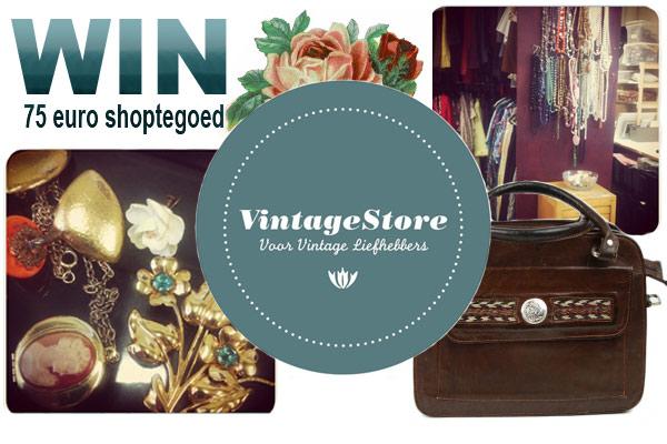 WINACTIE – Win 75 euro shoptegoed van VintageStore