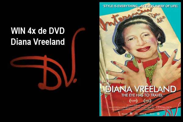 WINACTIE - Win 4x DVD Diana Vreeland