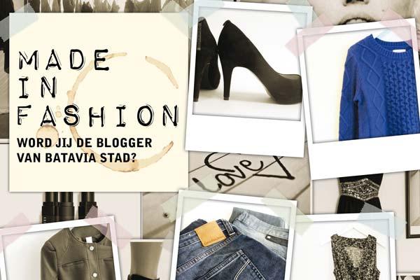 Word jij een jaar lang de blogger van Batavia Stad Fashion Outlet?