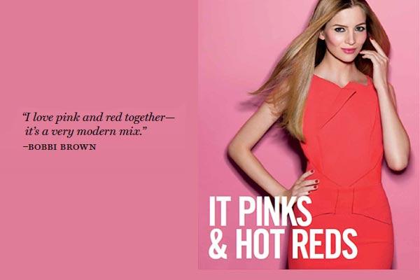 Bobbi Brown Lente Make-up 2013: It Pinks & Hot Reds