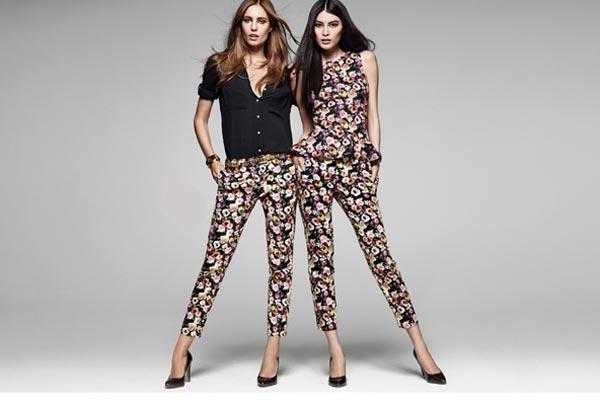 Modetrends Lente en Zomer 2013 - Bloemenprints bij H&M