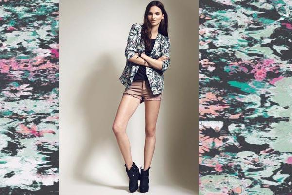 Modetrends Lente en Zomer 2013 - Bloemenprints bij Only