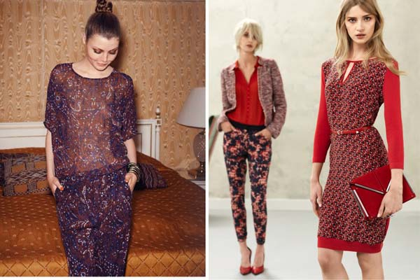 Modetrends Lente en Zomer 2013 - Selected Femme & Claudia Strater