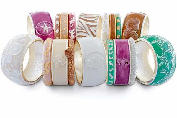 Handgeschilderde Armbanden van Sal Y Limon in Pastel