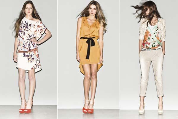 Modetrends Lente en Zomer 2013: Sisley SS13 - Bloemen