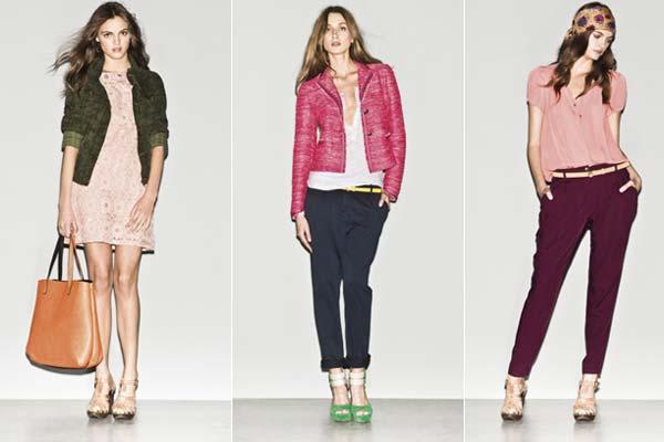 Modetrends Lente en Zomer 2013: Sisley SS13 - korte jasjes en fijne broeken