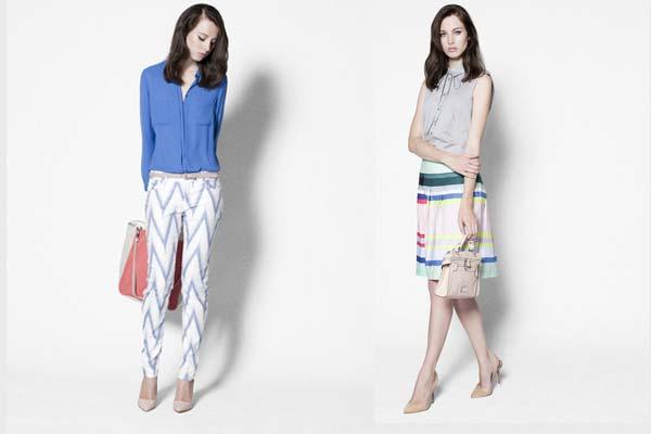 Modetrends Lente en Zomer 2013: MEXX Metropolitan Looks 1 en 2