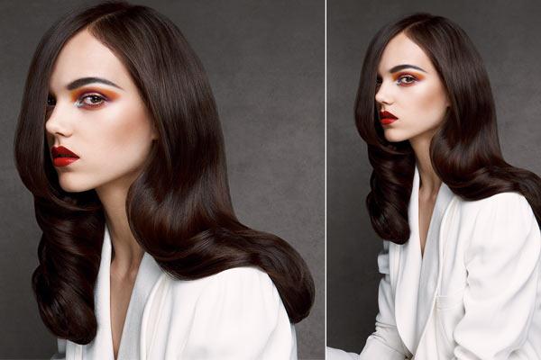 Haar inspiratie – Look 1: Gloss
