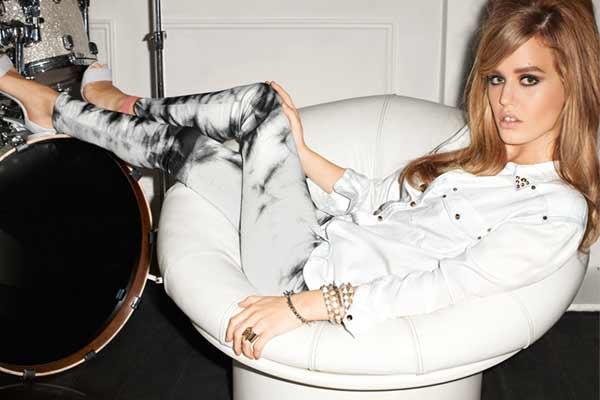 Modetrends Lente en Zomer 2013: Rock Chic nieuwe stijl - afbeelding H&M