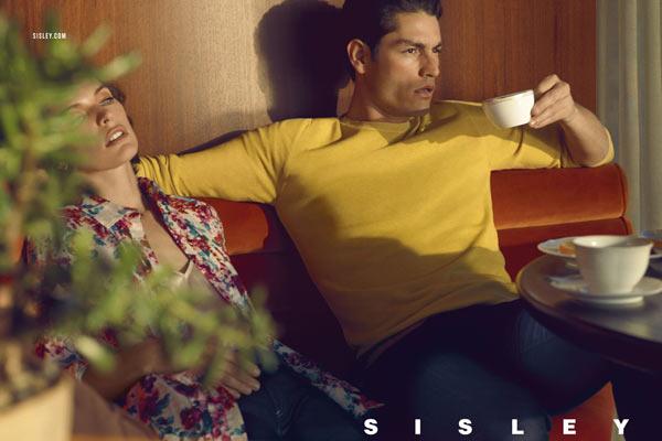 Milla Jovovich en Tyson Ballou voor Sisley SS13 campagne