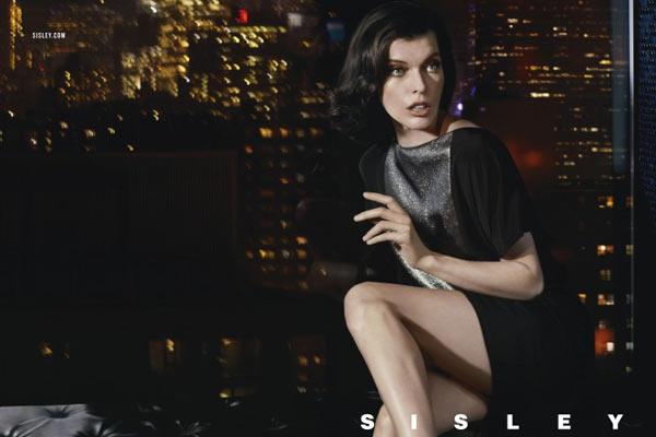 Milla Jovovich en Tyson Ballou voor Sisley SS13 campagne - 9