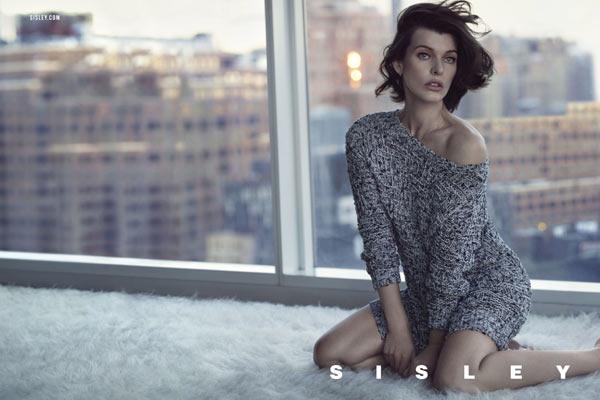 Milla Jovovich en Tyson Ballou voor Sisley SS13 campagne - 1